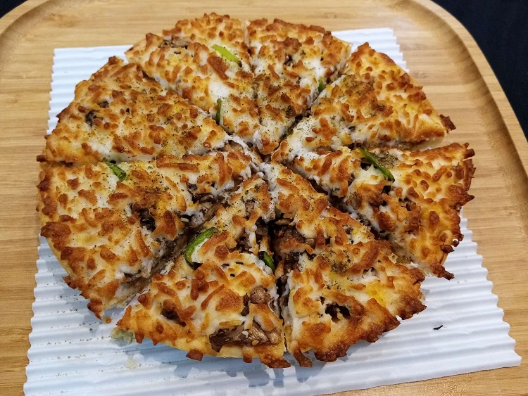 مینی پیتزا مرغ