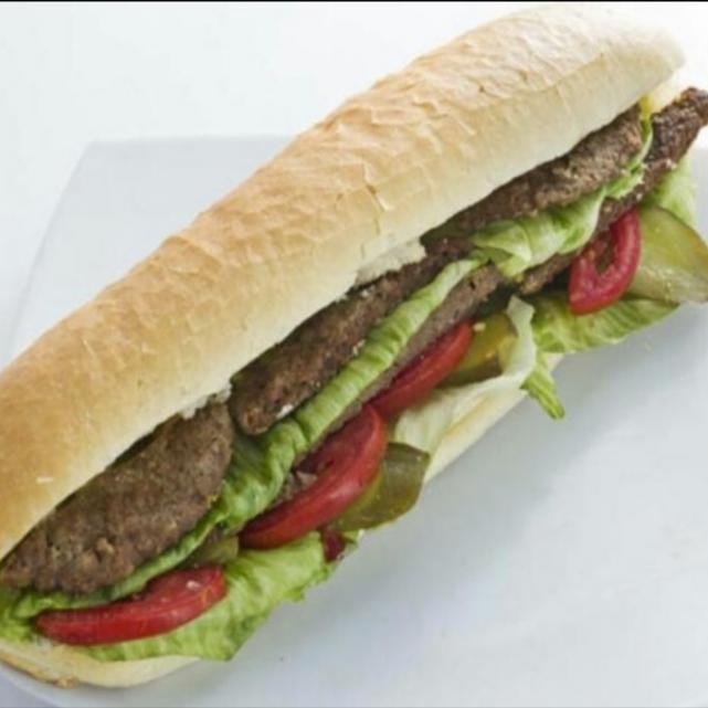 همبرگر مخصوص (دست ساز)
