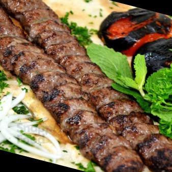 خوراک کباب کوبیده مخصوص گوسفندی