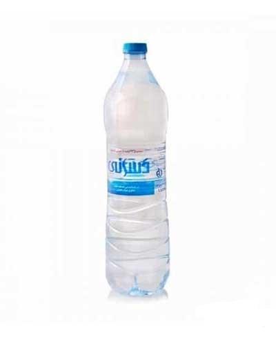 آب آشامیدنی بطری پت 1500 میلی لیتر دسانی