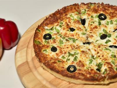 پیتزا سالامی تک نفره