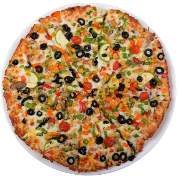 پیتزا سبزیجات بزرگ