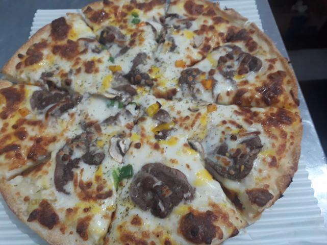 پیتزا استیک دو نفره
