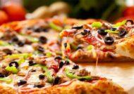 پیتزا چیکن آلفردو متوسط