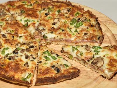 پیف پیتزا برگر 1 نفره