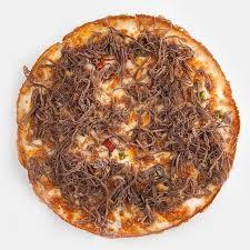 پیتزا رست بیف متوسط(100 درصد گوشت خالص)