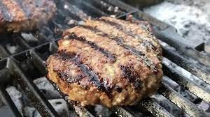 همبرگر مخصوص ذغالی
