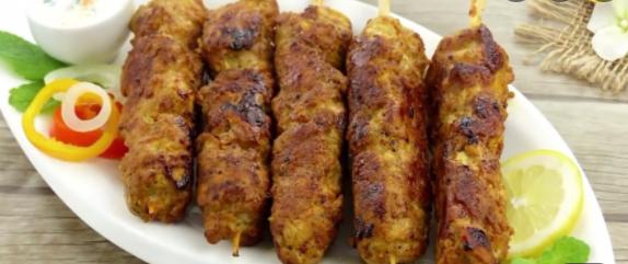 کباب چوبی مرغ