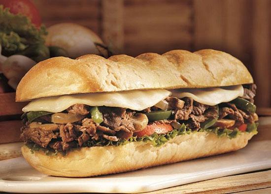 ساندویچ مخصوص استیک