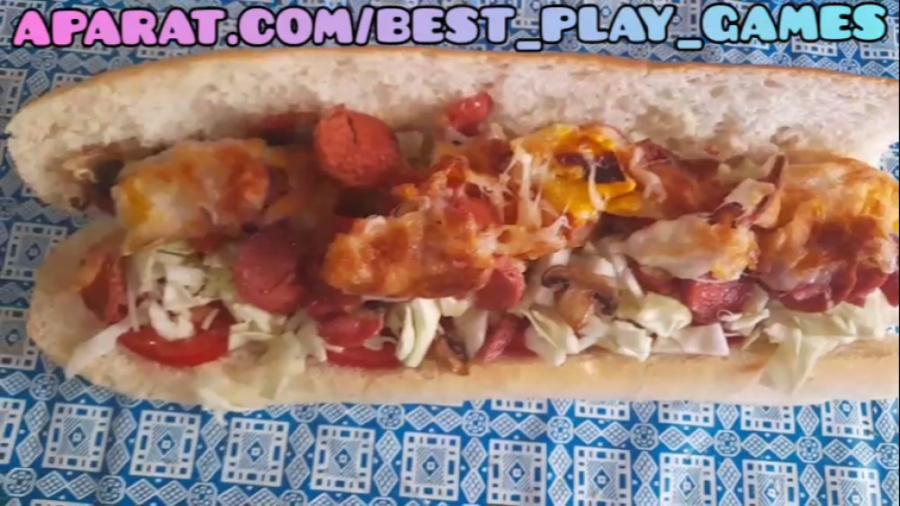 ساندویچ ران مرغ
