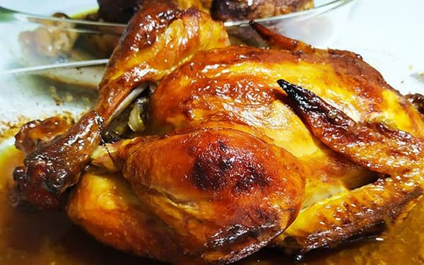 مرغ بریان کامل