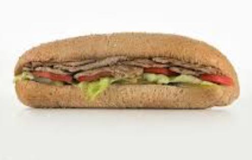 ساندویچ استیک گوشت