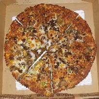 پیتزا کباب ترکی 2 نفره