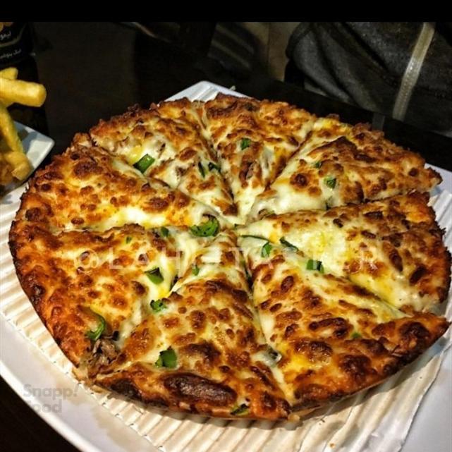 پیتزاقارچ و گوشت دونفره