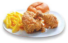 مرغ کنتاکی دو تکه (سیب زمینی)