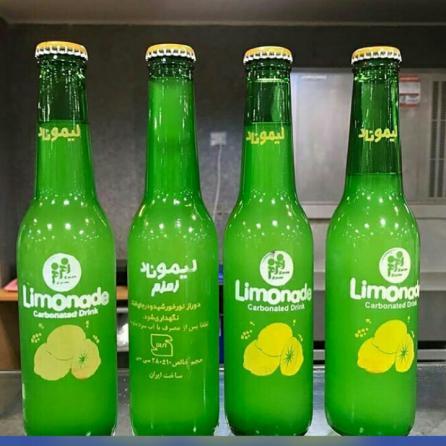 لیموناد شیشه ای