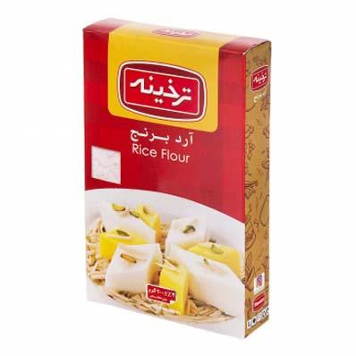 آرد برنج جعبه مقوایی 200 گرمی ترخینه