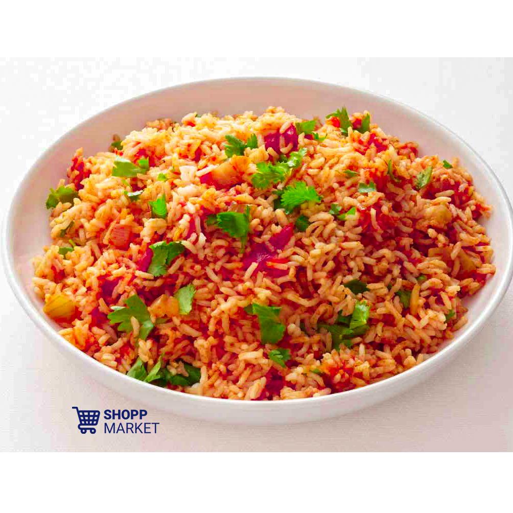 بشقاب برنج مکزیکی