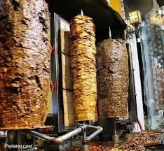 کباب ترکی متوسط بدون پیازو قارچ