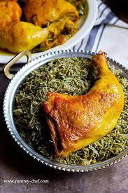 شویدپلو با مرغ