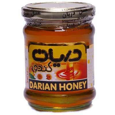 عسل معمولی ظرف  شیشه ای 300گرمی دریان کندو