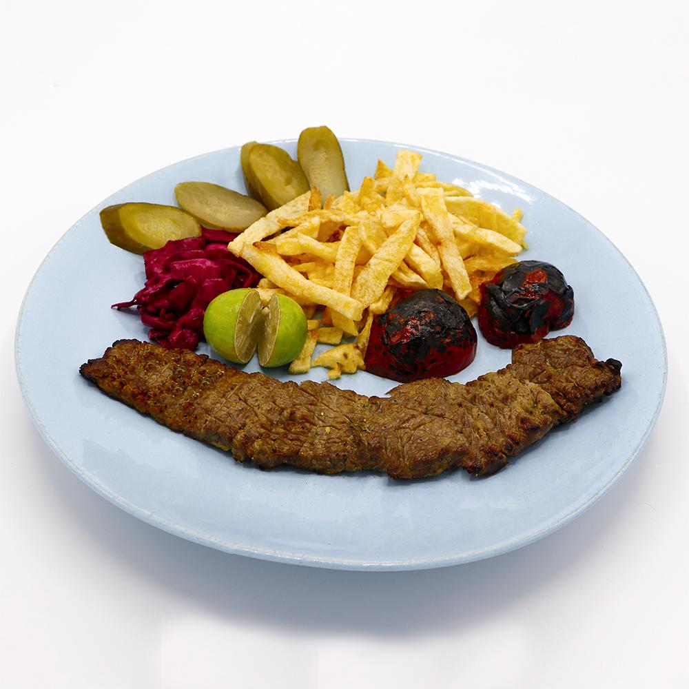 خوراک کباب برگ