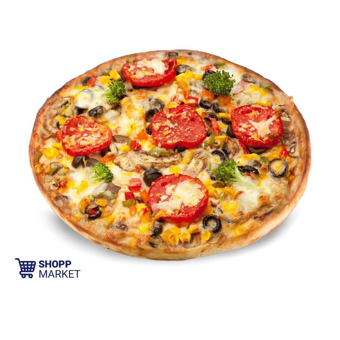 پیتزا سبزیجات خانواده