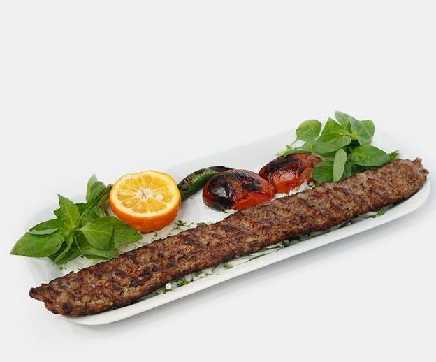 خوراک کباب کوبیده تک سیخ