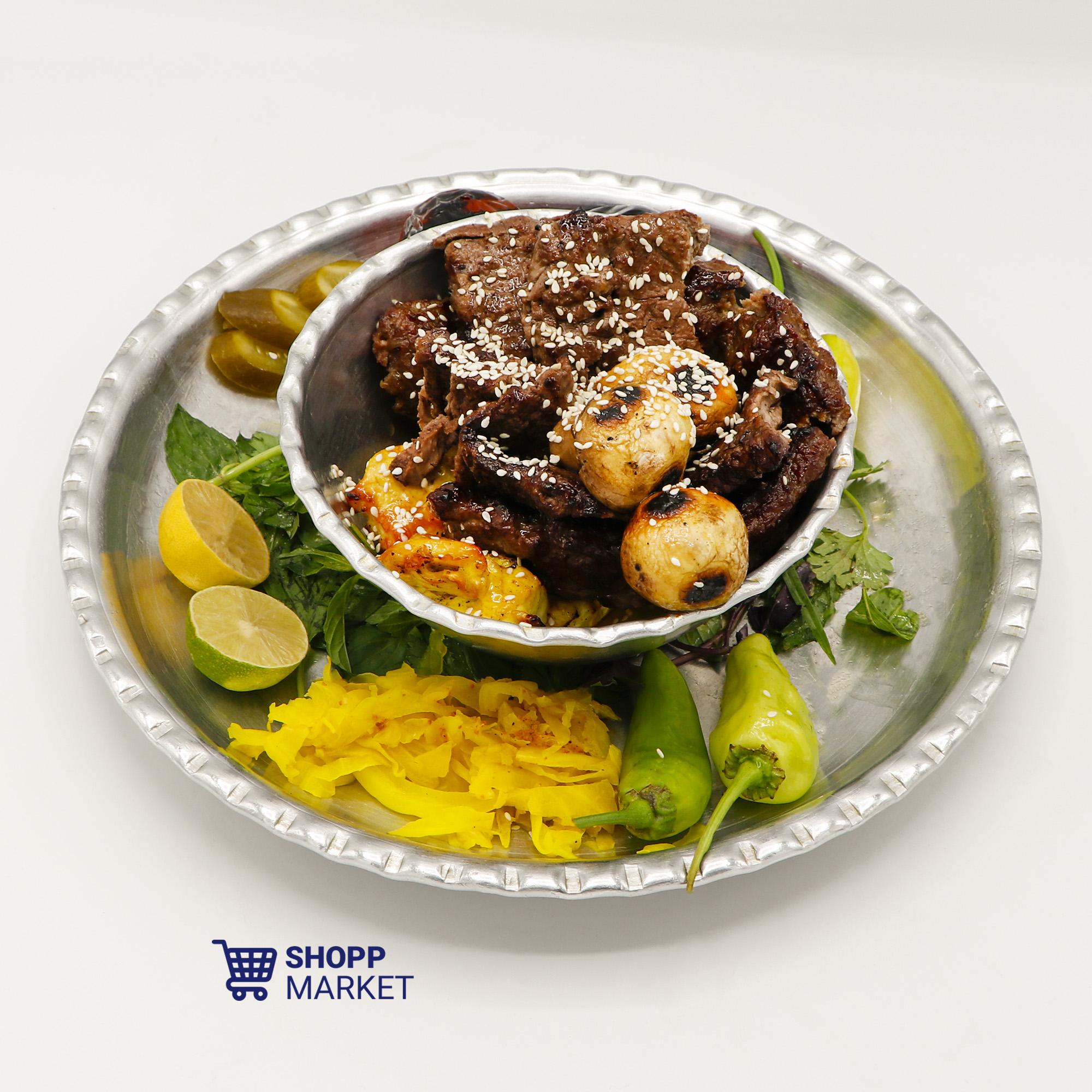 خوراک کاسه کباب مخصوص