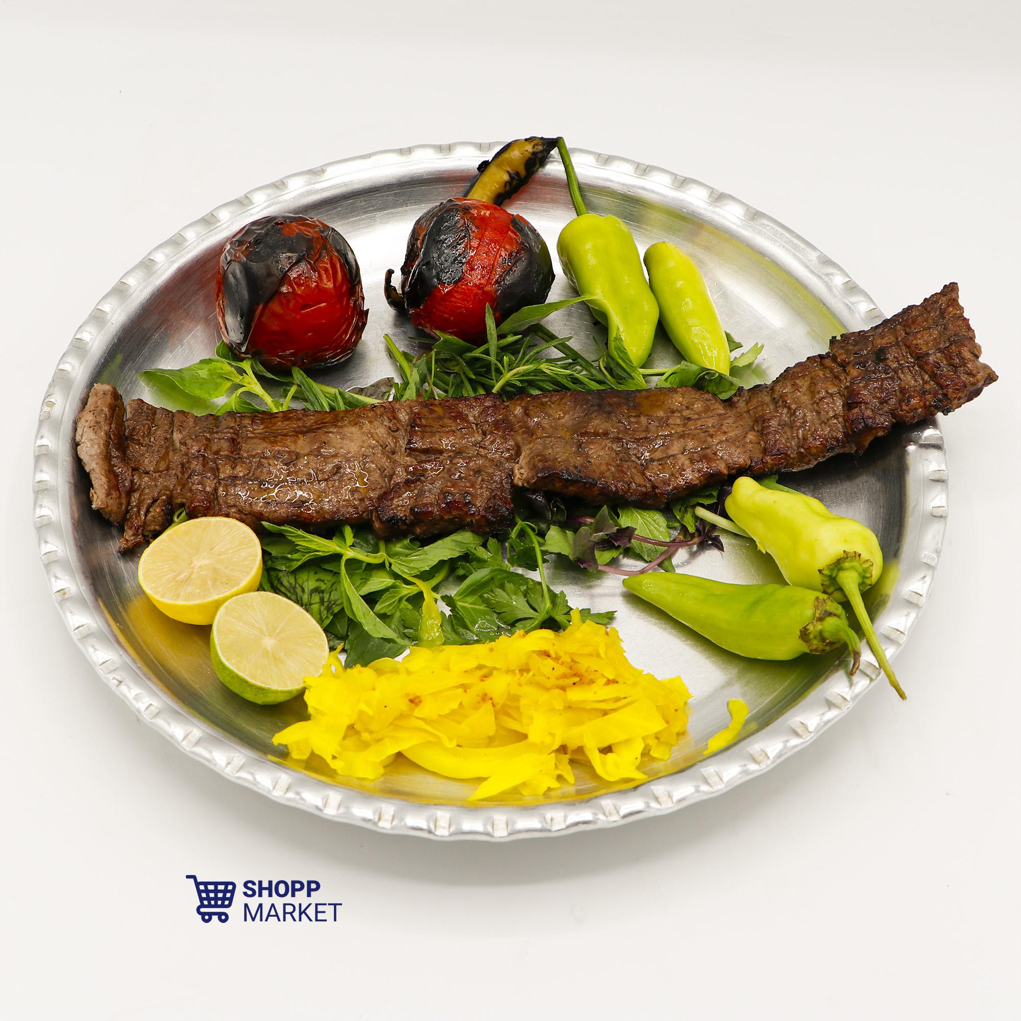 خوراک کباب برگ مخصوص