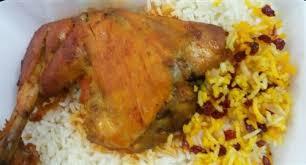 زرشک پلو با مرغ