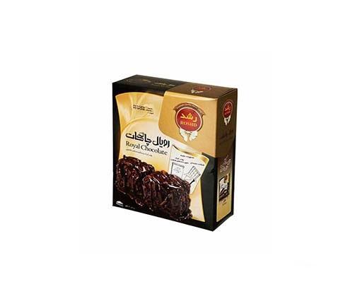 پودرکیک نیم آماده شکلاتی رویال چاکلت 580گرم رشد
