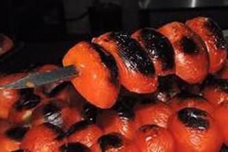 گوجه و فلفل کبابی