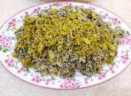 باقالی پلو با برنج ایرانی