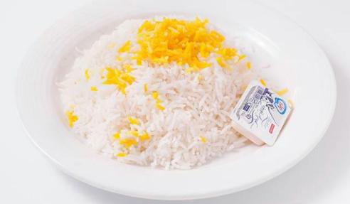 چلو کره با برنج ایرانی