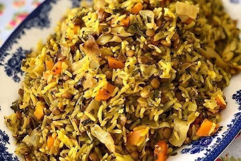 دمپختک گیاهی شیرازی