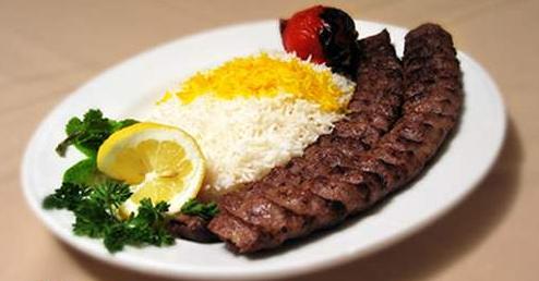چلوکباب کوبیده مخصوص شریفی