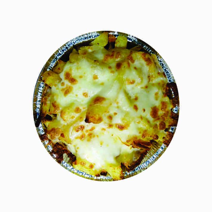 سیب زمینی با پنیر