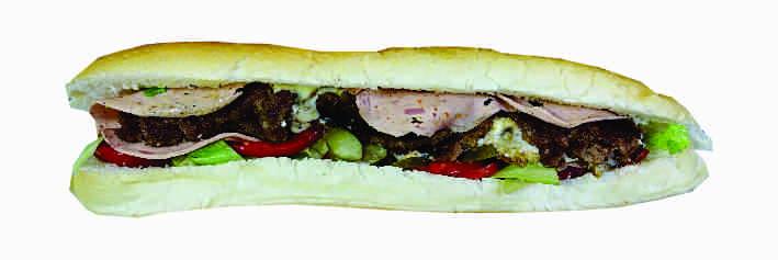 همبرگر رویال دستی