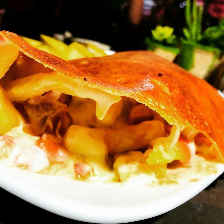 رولت سیب پنیری
