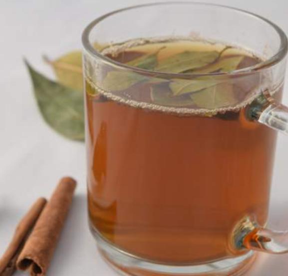 دارچین+چای سبز+گل سرخ