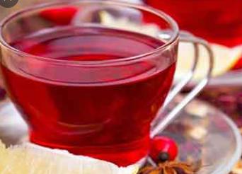 چای ترش+زنجبیل+خارمریم