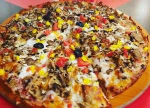 پیتزا مکزیکی (دو نفره)