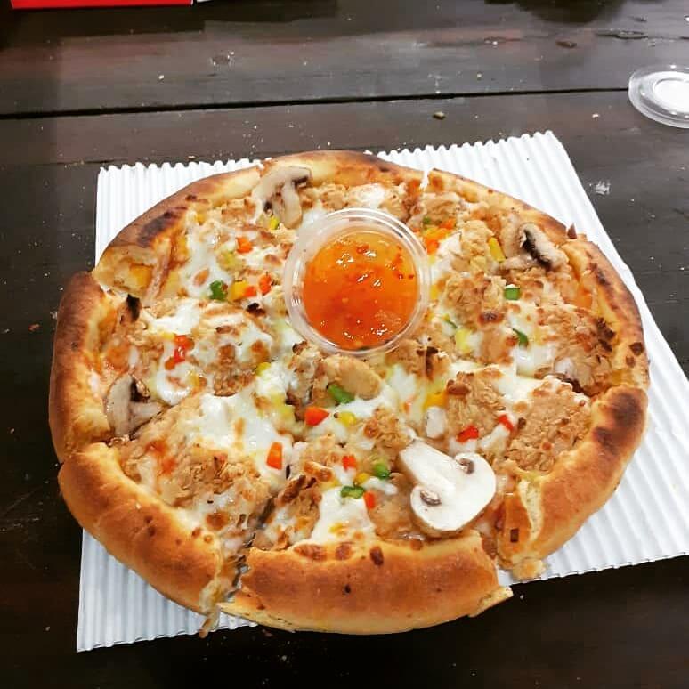 پیتزا سوخاری(کنتاکی) دو نفره