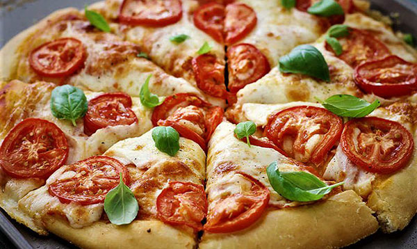پیتزا مارگاریتا دو نفره