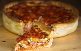 کیک پیتزا مخلوط
