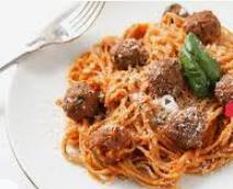 اسپاگتی میت بال