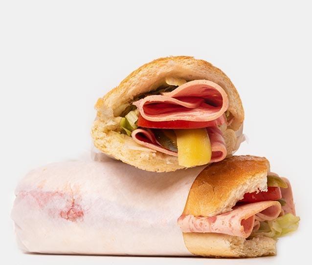 ساندویچ ژامبون مرغ