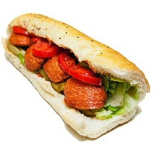 ساندویچ کوکتل زغالی