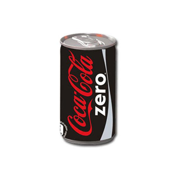 نوشابه قوطی کوکاکولا زیرو